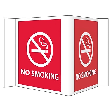 Visi Sign, No Smoking, Red, 8