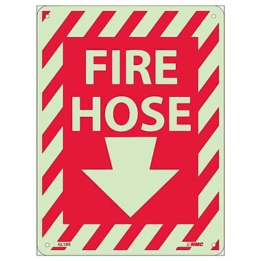 Fire Hose with Down Arrow, 12