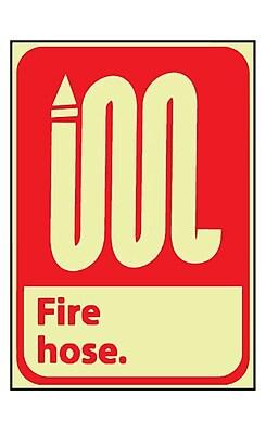 Fire, Fire Hose, 10X7, Adhesive Vinylglow