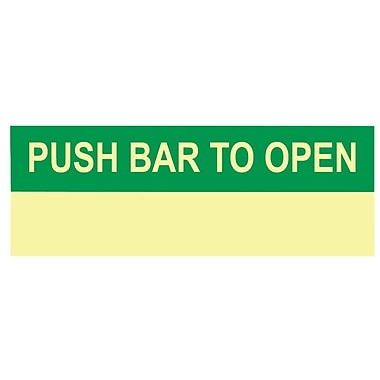 Push Bar To Open, 5