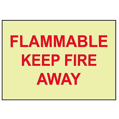 Fire, Flammable Keep Fire Away, 10