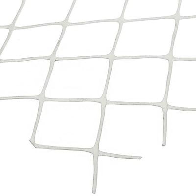 Mutual Industries Diamond Link Fence, 4' x 50', White