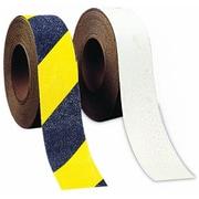 "Mutual Industries Die Cut Non-Skid Hazard Stripe Abrasive Tape, 6"" x 24"""