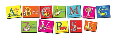 Eureka Dr. Seuss Mini Bulletin Board Set, Encouraging and Positive ABC (EU-847103)