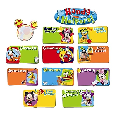 Eureka® Mickey Mouse Clubhouse® Mini Bulletin Board Set, Handy Helpers Job Chart (EU-847100)