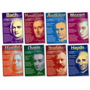 North Star Teacher Resources Bulletin Board Set, Composers (NST3072)