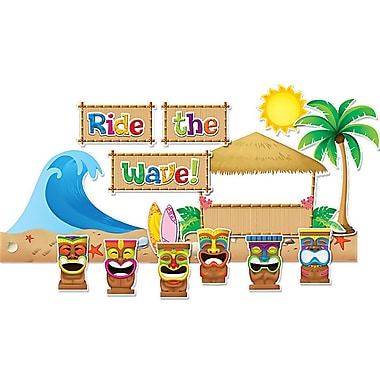 Teacher Created Resources Bulletin Board Display Set, Surfs Up (TCR5517)