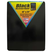 "Flipside 24"" x 36"" Dry Erase Board, Black"