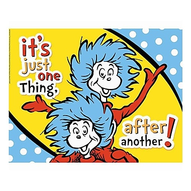 Eureka® Dr. Seuss™ One Thing After Another Poster, 17