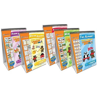 New Path Learning® Curriculum Mastery® Early Childhood ELA Readiness Flip Chart (NP-320035)