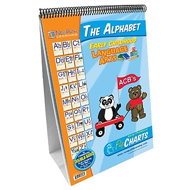 New Path Learning® Curriculum Mastery® Early Childhood ELA Readiness Flip Chart, Alphabet (NP-320021)