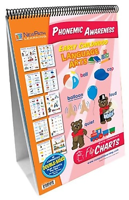 New Path Learning® Curriculum Mastery® Early Childhood ELA Readiness Flip Chart, Phonemic Awareness (NP-320023)