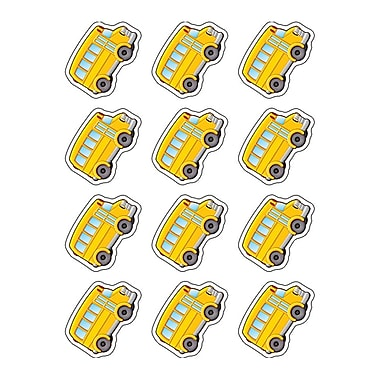 Teacher Created Resources Mini Accents, School Bus, 2-5/8