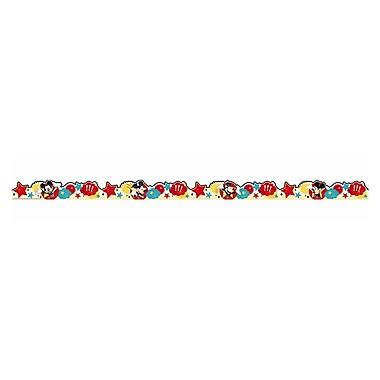 Eureka Scalloped Mickey Trim, Multicolor, 37