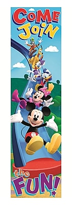 Eureka Straight Mickey Mouse Clubhouse Banner, Multicolor, 45