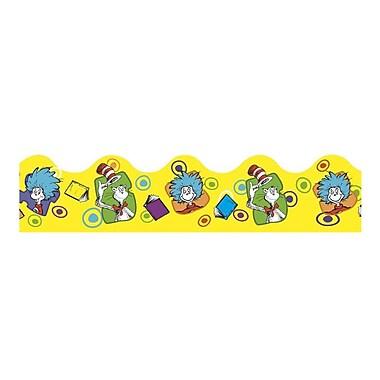 Eureka® PreK - 12th Grade Extra Wide Die-Cut Deco Trim, Dr. Seuss Yellow