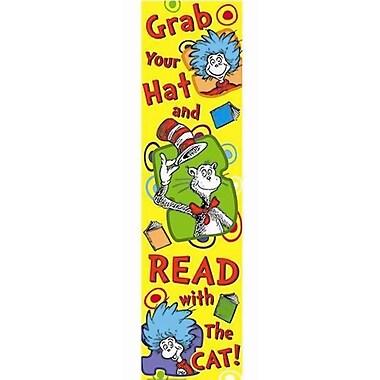 Eureka® Straight Dr. Seuss Grab Your Hat Banner, Multicolor, 45