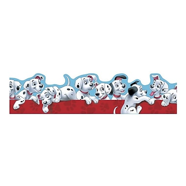 Eureka® Puppies Extra Wide Cut Deco Trim, 101 Dalmatians, PreK - 12th Grade (EU-845211)