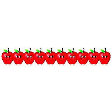 Hygloss Classroom Border, Happy Apples Die-Cut, Infant - 6th Grade (HYG33646)