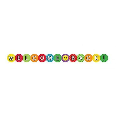 Hygloss Classroom Border, Welcome Back, Kindergarten - 6th Grade (HYG33613)