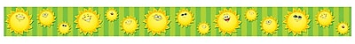 Teacher Created Resources Straight Happy Suns Border Trim, Multicolor, 35