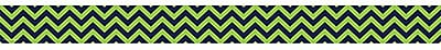 Teacher Created Resources Border Trim, Navy/Lime Chevron, Toddler - 12th Grade (TCR5542)