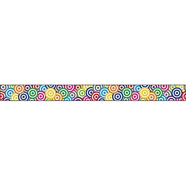 Teacher Created Resources Straight Targets Border Trim, Multicolor, 35