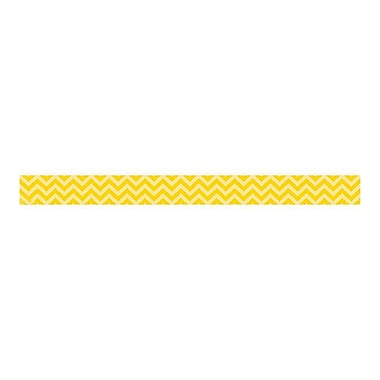 Teacher Created Resources Toddler - 12th Grade Border Trim, Yellow Chevron