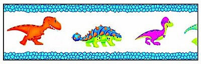 Trend Enterprises Dino-Mite Pals Toddler - 6th Grade Bolder Border, Dinosaurs, 11/Pack 1011440