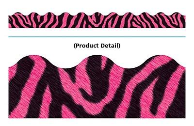 Trend Enterprises® PreK - 12th Grade Terrific Trimmer, Pink Zebra, 12/Pack