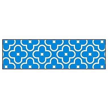 Trend Enterprises® Toddler - 12th Grade Bolder Border, Blue Floral