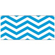 "TREND T-85177 35.75' x 2.75"" Straight Looking Sharp Bolder Borders, Blue/White"