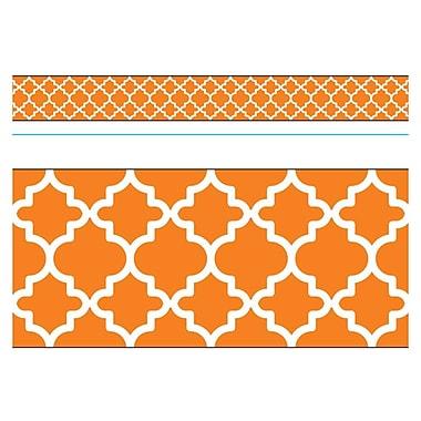 Trend Enterprises® Toddler - 12th Grade Bolder Border, Orange Moroccan