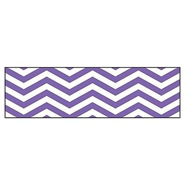 Trend Enterprises® Toddler - 12th Grade Bolder Border, Purple Looking Sharp