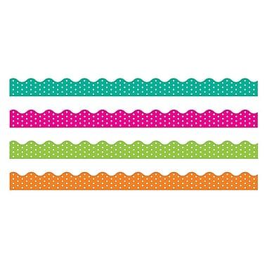 Trend Enterprises® Toddler - 12th Grade Terrific Trimmer & Bolder Border Variety Pack, Polka Dots