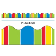 Trend Enterprises® Toddler - 12th Grade Terrific Trimmer, Cheerful Stripe-Tacular, 12/Pack