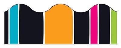 Trend Enterprises® Toddler - 12th Grade Terrific Trimmer, Groovy Stripe-Tacular, 12/Pack