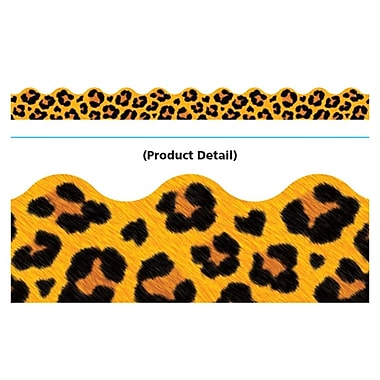 Trend Enterprises® Toddler - 12th Grade Terrific Trimmer, Yellow Leopard