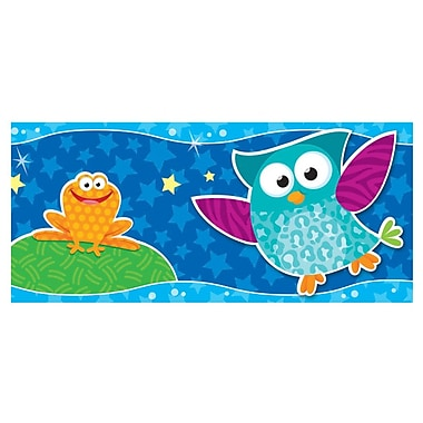 Trend Enterprises® Bolder Border, Owl-Stars!, 11/Pack (T-85125)