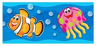 Trend Enterprises® Toddler - 3rd Grade Bolder Border, Sea Buddies™, 11/Pack