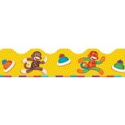 Trend Enterprises® Toddler - 6th Grade Terrific Trimmer, Sock Monkeys