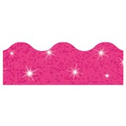Trend Enterprises® Toddler - 6th Grade Terrific Trimmer, Solid Hot Pink Sparkle, 10/Pack