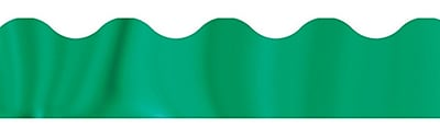 Trend Enterprises® Toddler - 6th Grade Terrific Trimmer, Solid Metallic Emerald, 10/Pack