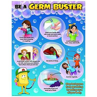 Teacher Created Resources Be A Germ Buster Chart, Grade PreK - 6th (TCR7744)
