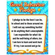 Teacher Created Resources Good Behavior Pledge Chart, Grade 1st - 6th (TCR7790)
