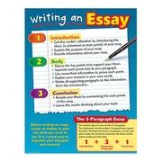 Teacher Created Resources Writing an Essay Chart, Grade 3rd - 8th (TCR7785)