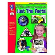 "On The Mark Press ""Just The Facts: Developing Non-Fiction Reading Comp Skills"" Book, Grade 1st - 3rd (OTM14288)"