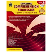 """Teacher Created Resources """"Targeting Comprehension Strategies for the Common Core"""" Book, 2nd Grade (TCR8031)"""