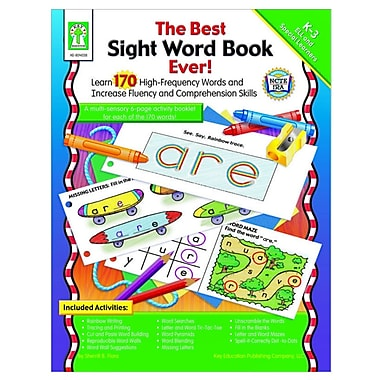 Key Education Publishing® Sight Word Book, Grades Kindergarten - 3rd