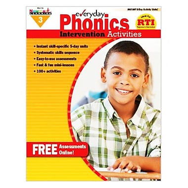 Newmark Learning Everyday Phonics Intervention Activities Book, Grade 3